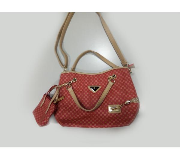 Bolsa vermelha lovcarly - 2