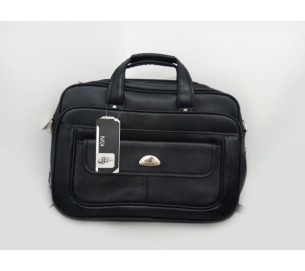 Pasta, maleta, bolsa executiva preta KVN - 2