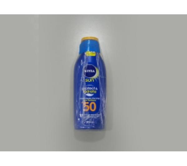 Protetor solar nivea sun protect & hidrata FPS 50 200ml - 2